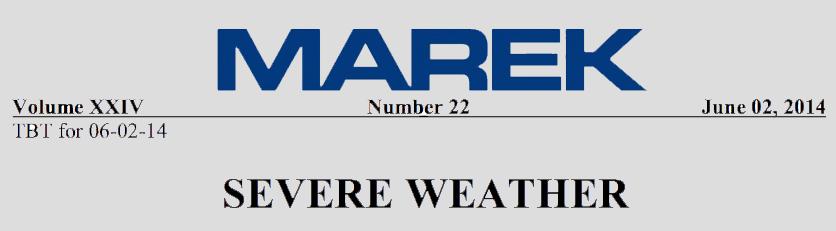 Weekly Toolbox Talk: Severe Weather | Marek